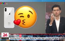 """Việt Hoàng - """"vựa muối"""" của VTV nhắc đến ai đó thủ thỉ rồi hôn chùn chụt vào điện thoại, dân chơi TikTok ôm bụng cười"""