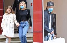 Khi Brooklyn Beckham đưa hôn thê tài phiệt và Harper đi mua sắm: Anh biến thành khuân vác, còn 2 chị em đi diễn hay gì?