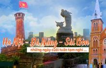 Hà Nội, Đà Nẵng, TPHCM: Những ngày cuối tuần vắng vẻ khi người dân chung tay chống dịch Covid-19