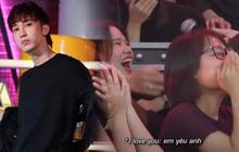 """Màn """"mê trai bất chấp"""" của hội fan girl Key (MONSTAR) khiến khán giả không thể nhịn cười"""