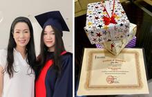 Á hậu Trịnh Kim Chi khoe thành tích học tập của con gái, choáng hơn cả là mức học phí đắt đỏ