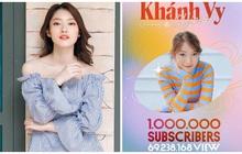 """""""Hotgirl 7 thứ tiếng"""" Khánh Vy đã tốt nghiệp ĐH bằng Giỏi, kênh YouTube đạt 1 triệu subscribers"""