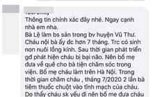 Thái Bình: Điều tra nghi vấn bà nội tiêm thuốc chuột cháu bị bại não vì không muốn nuôi?