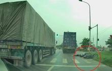 Tìm thấy tài xế container chạy ẩu tông nữ sinh viên trường Luật tử vong rồi bỏ trốn ở Hải Phòng