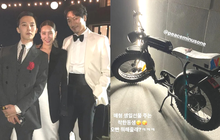 """Sướng nhất tài tử Kim Min Joon: Sinh nhật được em vợ G-Dragon (BIGBANG) tặng hẳn xế xịn, """"độc nhất vô nhị"""" trên đời"""