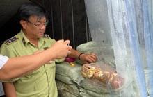 Kịp thời phát hiện gần 20 tấn thịt hôi thối trong 5 thùng container