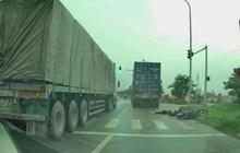 Hà Nội: Xe container chạy ẩu tông nữ sinh viên trường Luật tử vong rồi bỏ trốn
