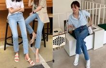 """Nàng nào cũng sẽ muốn sắm cho bằng hết 5 kiểu giày dép hợp cạ với quần jeans vì diện lên là đẹp """"mì ăn liền"""""""