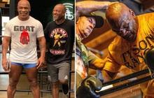 Trước ngày tái xuất, Mike Tyson khoe body căng đét cùng cơ bắp đáng ngưỡng mộ ở tuổi 54