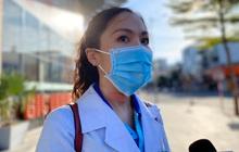 """Nữ bác sỹ trẻ xinh đẹp ở Bình Định xung phong vào """"tâm dịch"""" chi viện cho Đà Nẵng: Khi nào hết dịch con mới về!"""