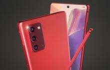 Không chỉ màu đồng ánh kim quyến rũ, Samsung sẽ còn ra mắt Galaxy Note20 màu đỏ, xanh dương và hồng?