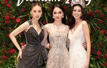 Hoa hậu Khánh Vân, Á hậu Thuý Vân, NTK Đỗ Mạnh Cường... chúc mừng Hương Giang nên duyên với CEO Matt Liu
