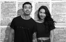 """Sau khi tố ê-kíp """"Người ấy là ai"""", em gái Hoàng Thuỳ công khai bạn trai Việt kiều cũng từng tham gia show"""