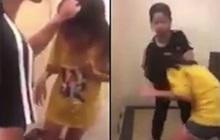 Nghệ An: Bé gái lớp 5 khóc lóc, van xin vẫn bị nhóm nữ sinh lớp 7 túm tóc, tát liên tiếp vào mặt