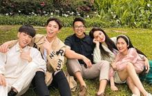 """Matt Liu ngày càng thân với hội bạn của nhà gái Hương Giang, chắc suất """"anh rể"""" nhỉ!"""