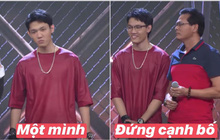 """Khoảnh khắc viral của Rap Việt thuộc về Tage: Làm """"cool boy"""" với cả thế giới nhưng lại là """"good boy"""" của ba"""