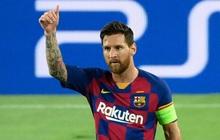Messi tỏa sáng với khoảnh khắc thiên tài, giúp Barca tiến bước vào vòng tứ kết Champions League