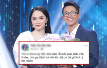 """Biến căng: CEO Matt Liu bị tố quẹt Tinder """"gạ tình"""" gái với đoạn tin nhắn chứng minh, phía Hương Giang nói gì?"""