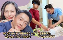 Con gái Cường Đô La - Đàm Thu Trang vừa sinh đã chạm vạch đích: Bố mẹ nổi đình nổi đám, biệt thự, siêu xe chẳng thiếu chi!