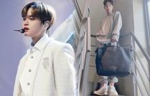 """Fan mừng húm vì mỹ nam Hàn Dae Hwi đi giày """"made in Vietnam"""", giờ muốn đu theo idol dễ như trở bàn tay"""