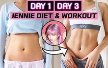 Bắt chước chế độ ăn kiêng của Jennie (BLACKPINK), cô nàng vlogger có ngay vòng 2 mơ ước sau 3 ngày