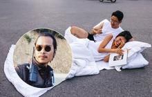 """Chụp ảnh cưới phong cách """"chăn gối"""" giữa phố đi bộ gây tranh cãi, tác giả lên tiếng: Không gây cản trở giao thông"""