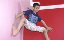 Cậu bé tay không leo tường thoăn thoắt, được mệnh danh Spider-Man Ấn Độ khi vừa 7 tuổi
