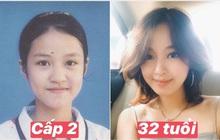 """Mi Vân khoe ảnh thẻ hồi cấp 2, vị trí """"tượng đài nhan sắc"""" làng hot girl xem chừng khó vào tay người khác"""
