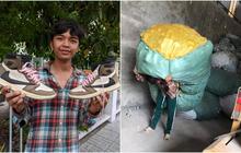 Thanh niên An Giang làm nổ ra tranh cãi khi khoe lấy tiền 2 năm bốc vác để sắm đôi giày 28 triệu đồng