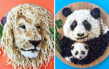 Những đĩa đồ ăn siêu cầu kỳ của người mẹ 2 con đang gây bão MXH, ngỡ tác phẩm nghệ thuật nên không ai dám ăn