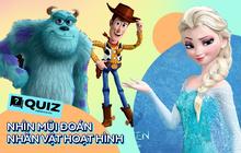 """Quiz: Nhìn mũi đoán nhân vật hoạt hình, chơi thử xem tuổi thơ bạn có còn """"vẹn nguyên""""?"""