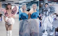 Lác mắt với đồ án cuối kỳ độc - lạ của sinh viên Thiết kế thời trang: Xem mà cứ ngỡ đang trong fashion show quốc tế