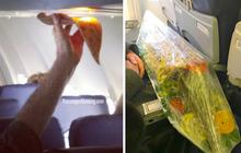 """Các vị khách """"tự nhiên như ở nhà"""" trên máy bay, tôi chỉ muốn một chuyến đi bình thường thôi mà?"""