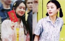 """""""Cô thôn nữ"""" Triệu Lệ Dĩnh siêu mộc mạc ở lễ khai máy y hệt """"bé Dĩnh"""" của 14 năm trước"""