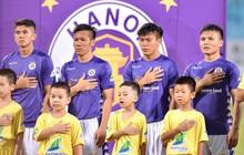 [Chung kết Cúp Quốc gia] Hà Nội FC 0-0 CLB Viettel (H1): Quang Hải đi bóng kỹ thuật qua Hải Quế, dứt điểm nguy hiểm