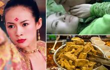 """Đậu hủ thối: Món ăn kinh hoàng khiến """"siêu sao Trung Quốc"""" Chương Tử Di """"ớn"""" tới già vì nụ hôn ám mùi hôi của bạn diễn"""