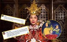"""""""Bão"""" tranh cãi về Quỳnh Hoa Nhất Dạ sau một bức ảnh minh hoạ: Người soi từ dùng sai, kẻ bảo lỗi trang phục"""
