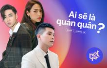 """Quân A.P, K-ICM và Hoài Lâm đang """"cạnh tranh"""" với loạt tên tuổi """"sừng sỏ"""" Vpop cho vị trí sản phẩm âm nhạc """"hot"""" nhất tuần qua!"""