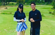 Matt Liu chễm chệ giật vị trí nam thần sân golf, tìm được người xứng đáng hơn anh xem chừng khó