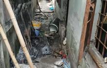 TP.HCM: Phòng trọ bốc cháy sau khi người đàn ông đi nhậu về