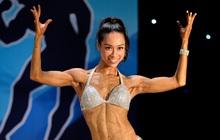 Nữ chính Lưu Phương Linh (Người ấy là ai) bất ngờ xuất hiện và thi đấu ấn tượng trên sàn thể hình Quốc gia