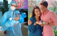 Clip: Hành trình đoàn tụ đầy xúc động từ Việt Nam sang Singapore của MC Hoàng Oanh, con trai và chồng Tây cực phẩm
