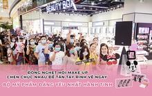 Hội nghiện makeup chen chúc đông nghẹt để tận tay rinh về bộ mỹ phẩm đáng yêu của M.O.I Cosmetics bắt tay với Disney