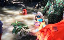 Tìm thấy người phụ nữ rớt xuống cống bị cuốn mất tích trong cơn mưa