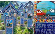Ngôi làng Rumani có truyền thống khắc thơ tục tĩu và cợt nhả lên bia mộ người đã khuất
