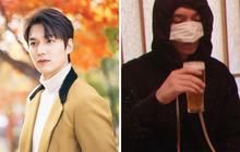 """Cẩn tắc vô áy náy như Lee Min Ho: Đi """"nhậu"""" cũng nghĩ ra cách che chắn cực lầy"""