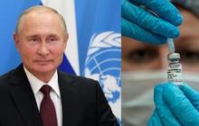 Ông Putin đề nghị tặng vắc-xin COVID-19 miễn phí cho nhân viên Liên hợp quốc