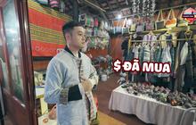 Đến Sapa nhưng chỉ mải mê đi... shopping, Hứa Vĩ Văn và Quang Vinh rinh về toàn quần áo thổ cẩm