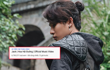 Sau 12 giờ, MV của Jack lọt top trending 5 quốc gia nhưng không vượt được Rap Việt để chiếm #1 YouTube Việt Nam