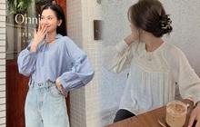 """6 kiểu áo blouse đáng sắm thu này, diện lên cô gái nào cũng có thêm vài phần """"chanh sả"""""""